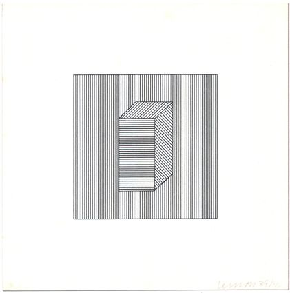 Sérigraphie Lewitt - Twelve Forms Derived from a Cube (Set of 48) (1)