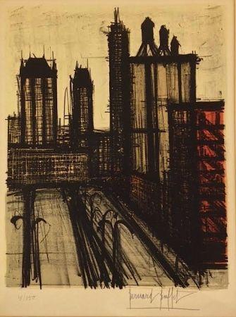 Lithographie Buffet - Twentieth Century America  l