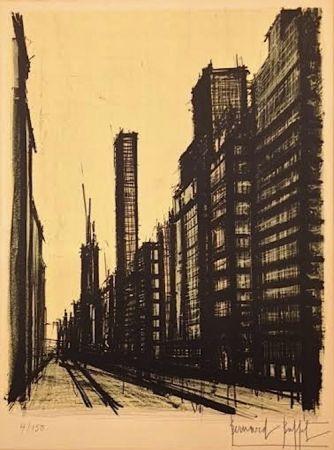 Lithographie Buffet - Twentieth Century America ll