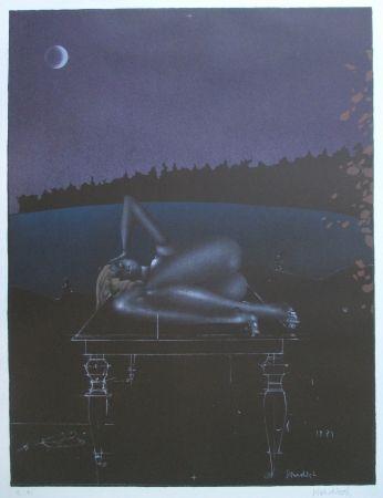 Lithographie Wunderlich - Twilight 7