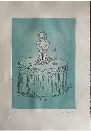 Eau-Forte Et Aquatinte Ray - Two colour etchings