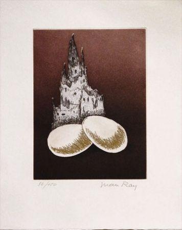 Aquatinte Ray - Two Eggs (1969)