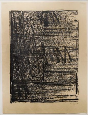 Lithographie Johns - Two Flags (ULAE 212)