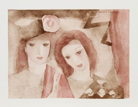 Eau-Forte Et Aquatinte Laurencin - Two Girls