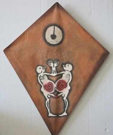 Sérigraphie Toledo - Two monkey kite