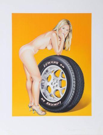 Lithographie Ramos - Tyra Tyre