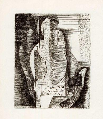 Livre Illustré Marcoussis - TZARA (Tristan). Indicateur des chemins de coeur.