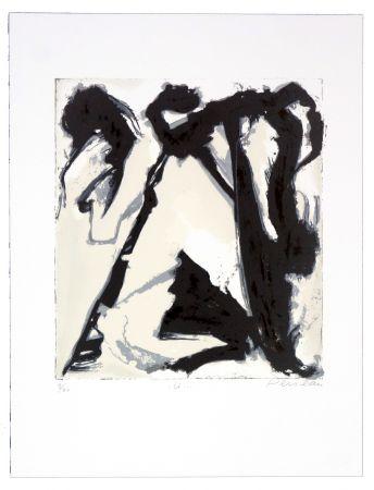Lithographie Péneau - U
