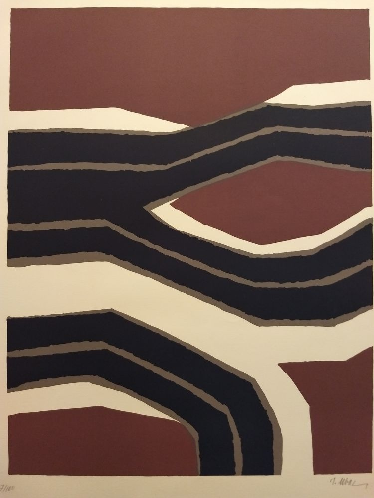 Lithographie Ubac - Ubac
