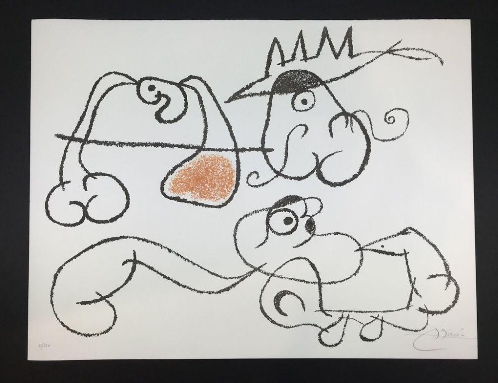 Lithographie Miró - Ubu aux Balèares
