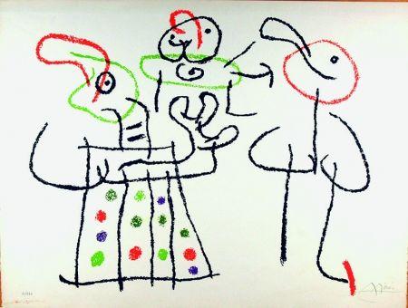 Lithographie Miró - Ubu aux Baléares