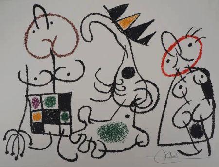 Lithographie Miró - Ubu aux Baléares - Planche 18