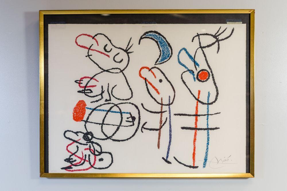Lithographie Miró - Ubu Aux Baleares