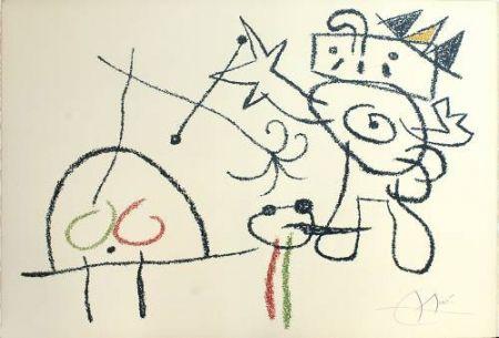 Lithographie Miró - Ubu aux Baleares, 17