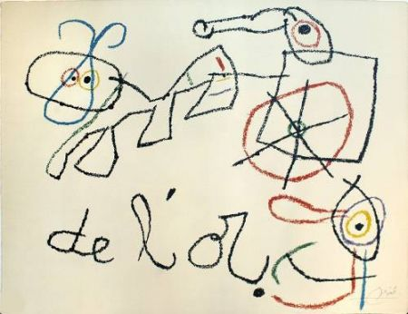 Lithographie Miró - Ubu aux Baleares, 4
