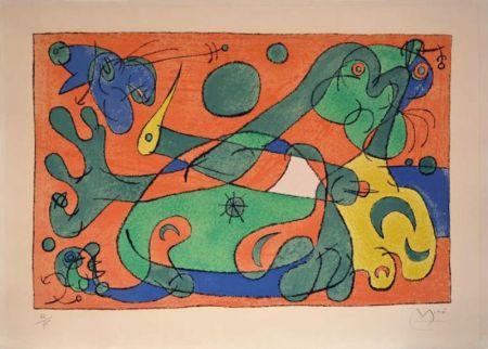 Lithographie Miró - Ubu roi
