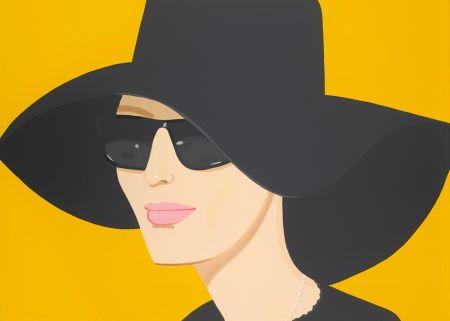 Lithographie Katz - Ulla in Black Hat