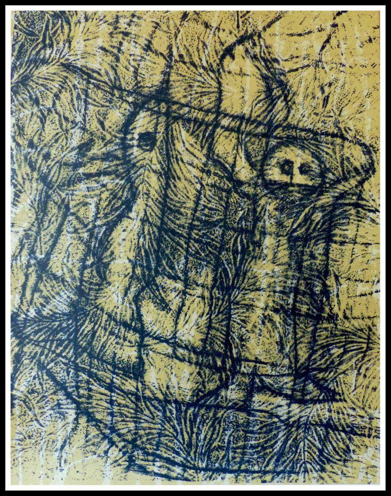 Lithographie Ernst - UN CHANT D'AMOUR