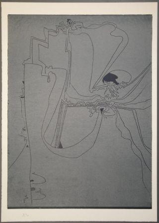 Gravure Sur Bois Müller - Un dito