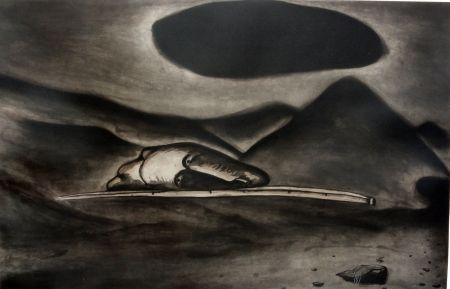 Eau-Forte Et Aquatinte Cucchi - Un 'immagine oscura