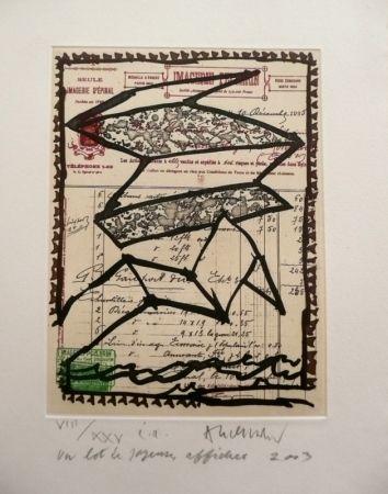Gravure Alechinsky - Un Lot De Joyeuses Affiches