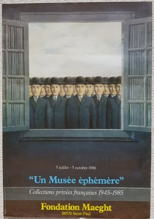 Offset Magritte - Un Musee Ephemere