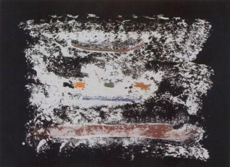 Lithographie Frankenthaler - Un poco más