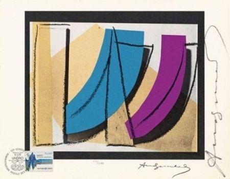 Lithographie Warhol - U.N. Stamp (FS II.185)