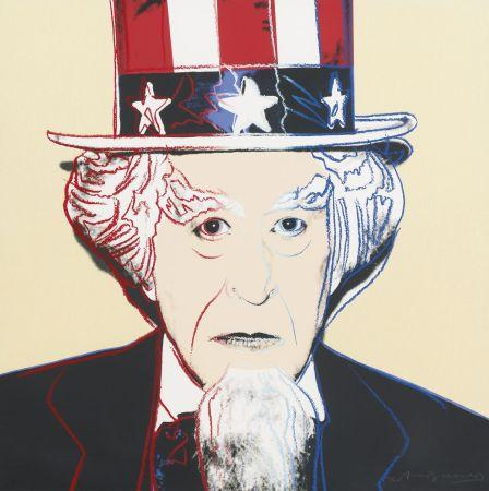 Sérigraphie Warhol - Uncle Sam (FS II.259)