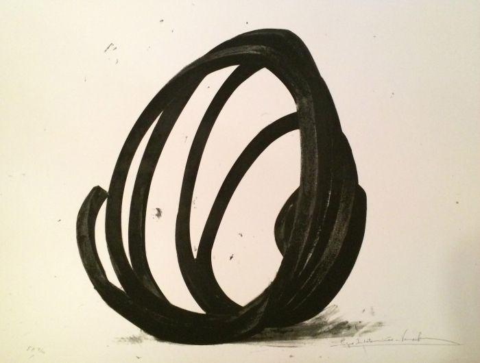 Sérigraphie Venet - Undetermined Line