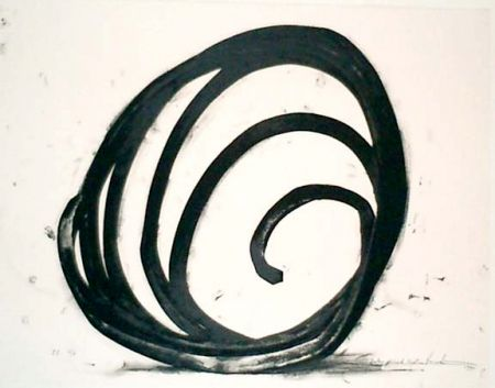 Lithographie Venet - Undetermined Line 1