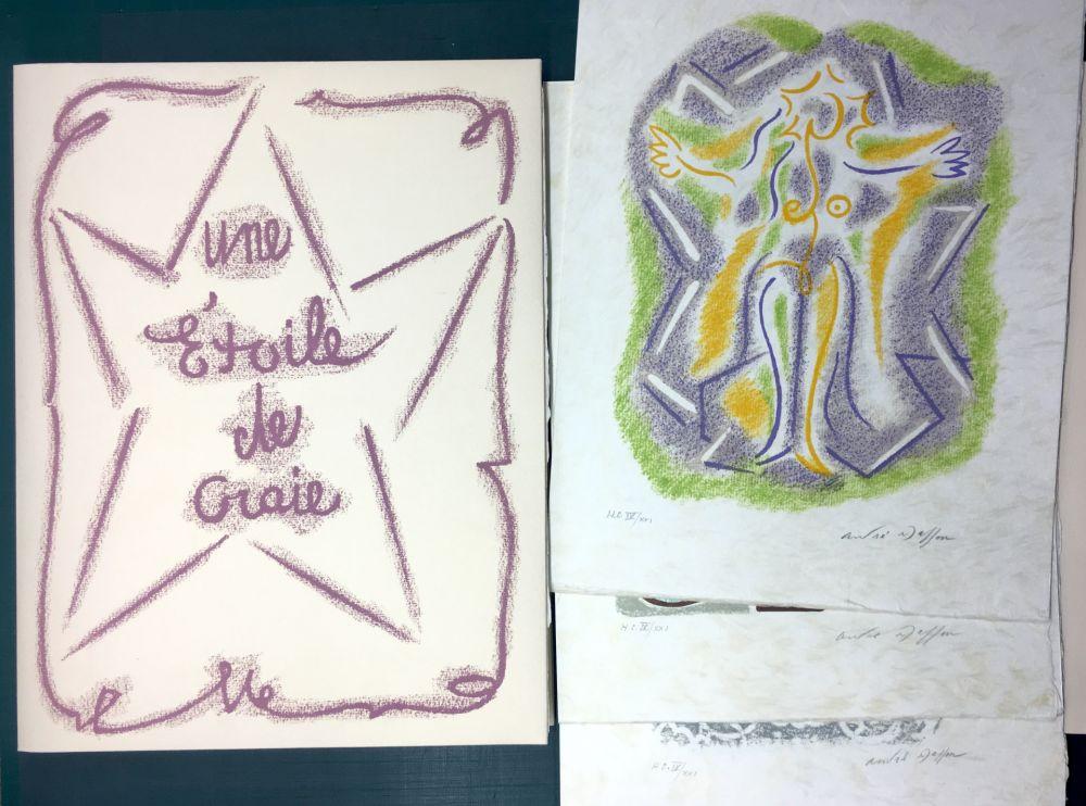 Livre Illustré Masson - UNE ÉTOILE DE CRAIE. Seize lithographies originales signées d'André Masson