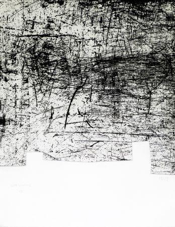 Gravure Chillida - Une helene de vent ou fumee II