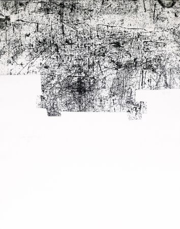 Gravure Chillida - Une helene de vent ou fumee III