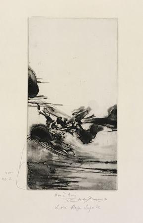 Eau-Forte Et Aquatinte Zao - Une Migration (250)