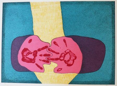 Lithographie Serrano - Unidad de manos