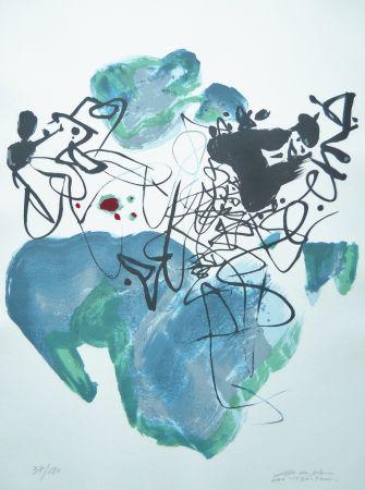 Sérigraphie Chu Teh Chun  - Universal Peace
