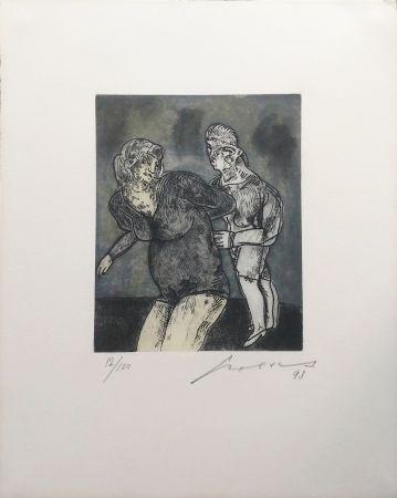 Gravure Cuevas - UNKNOWN TITLE