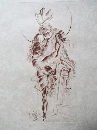 Eau-Forte Bellmer - Untitle
