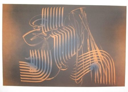 Lithographie Hartung - UNTITLE