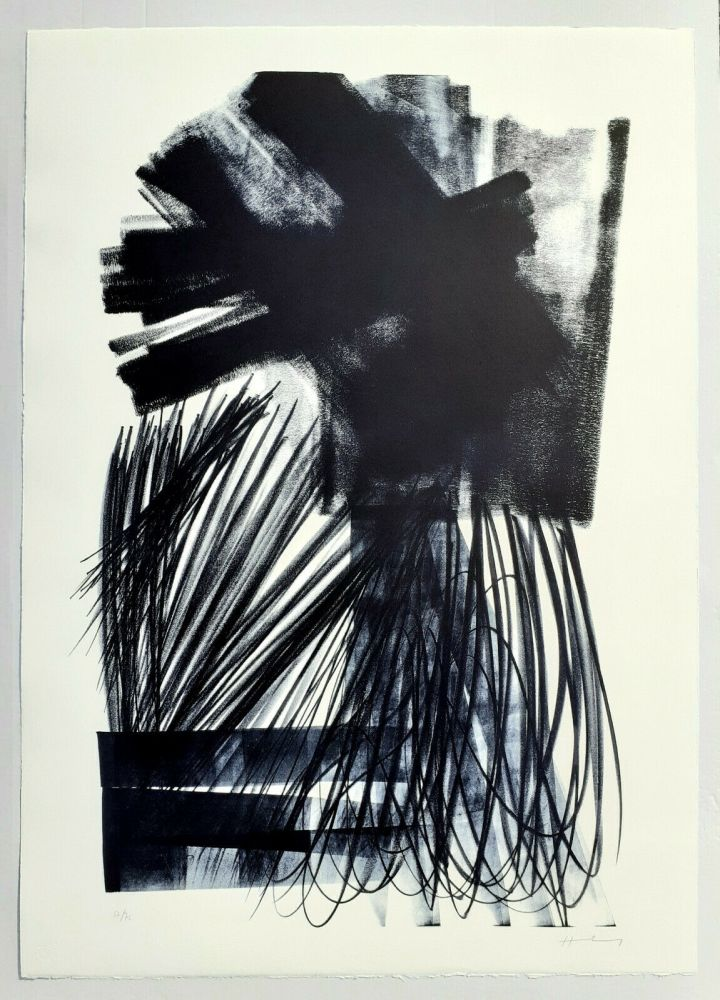 Lithographie Hartung - UNTITLED