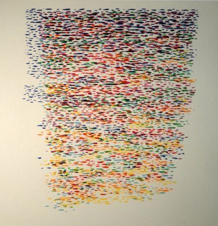 Lithographie Dorazio - Untitled