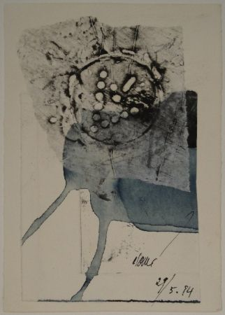Monotype Clavé - Untitled