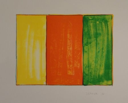 Lithographie Zeniuk - Untitled