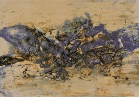 Lithographie Zao - Untitled