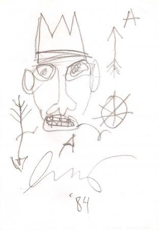 Aucune Technique Basquiat - Untitled