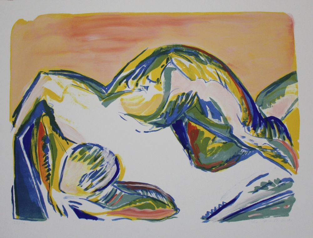 Lithographie Dietrich - Untitled