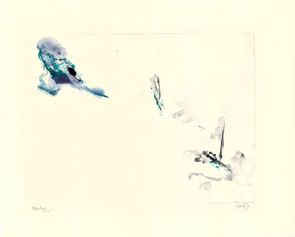 Monotype Santana - Untitled