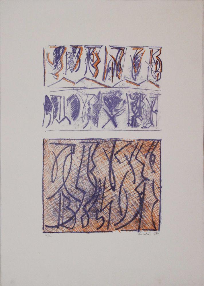 Lithographie Licata - Untitled