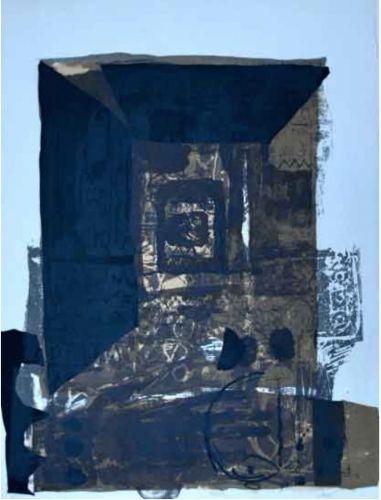 Lithographie Clavé - Untitled